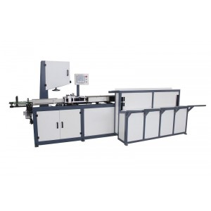 Toilet roll auto band saw