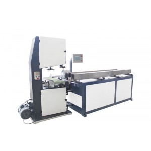 Industrial roll auto band saw