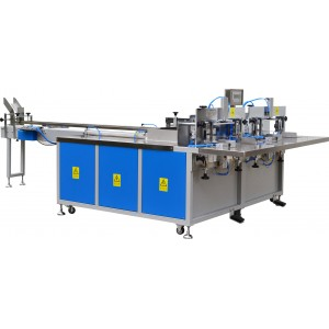 Facial Tissue Plastic Film Packing Machine (collective package)